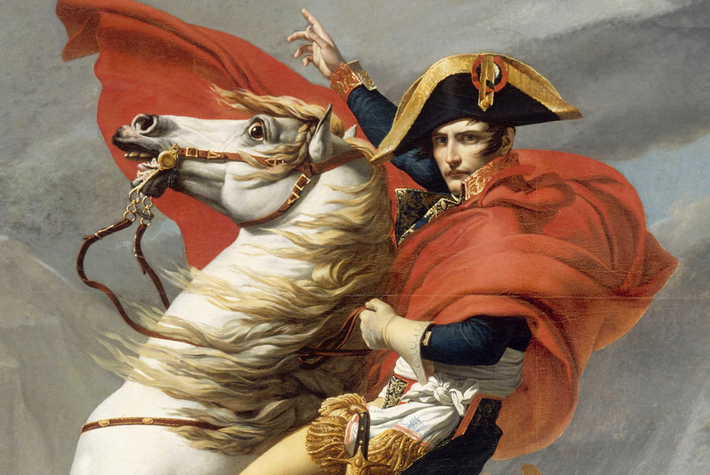 compare and contrast louis xiv and napoleon